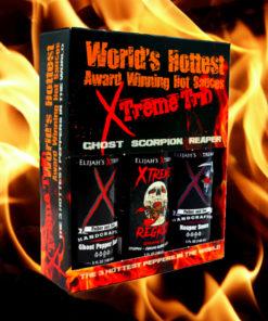 World's Hottest trio Sauce Produit